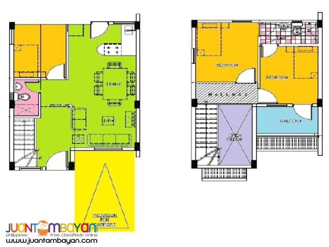 Carmona Cavite House & Lot Terraverde Residences Samantha Model