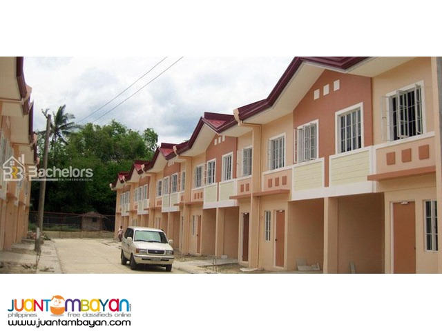 Townhouse 2-Storey as low as P9,384k monthly amort in Compostela Cebu