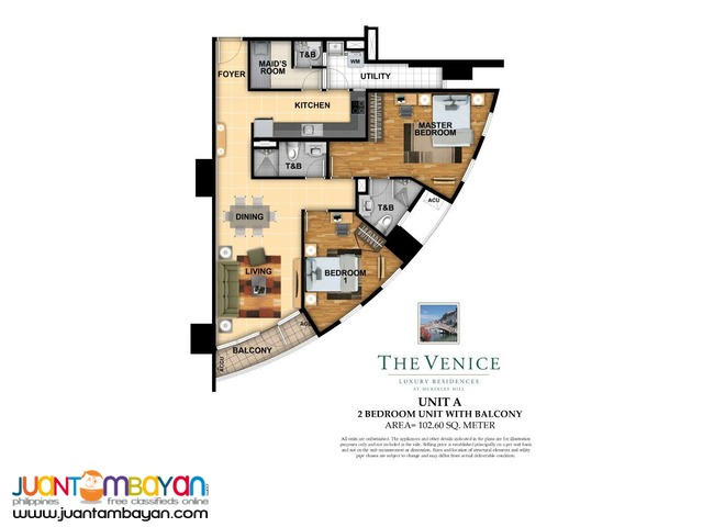 Venice Condo for Sale in Taguig McKinley Hill near BGC Fort Bonifacio