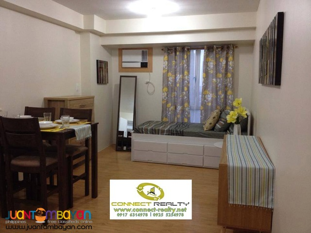 18K Fully Furnished Studio in Avida Tower FOR RENT