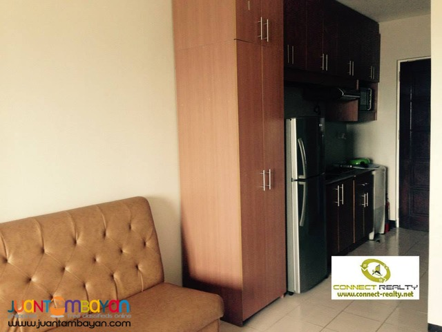 Fully Furnished Studio Unit in Persimmon FOR RENT 18K
