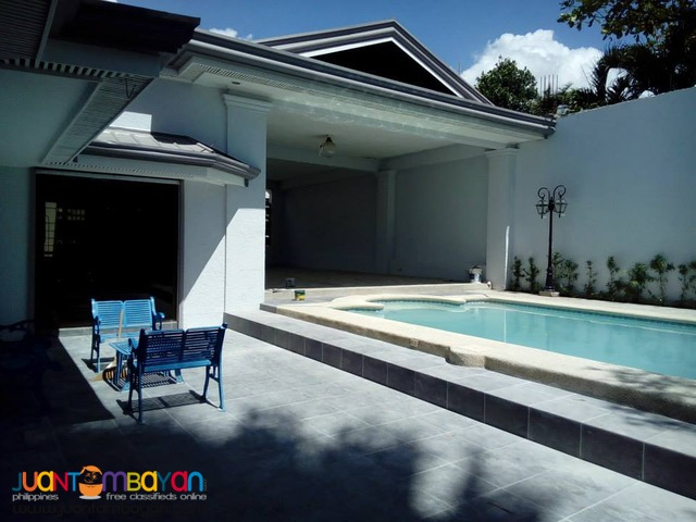 for RENT with Swimming Pool in Mandaue 85K Furnished House
