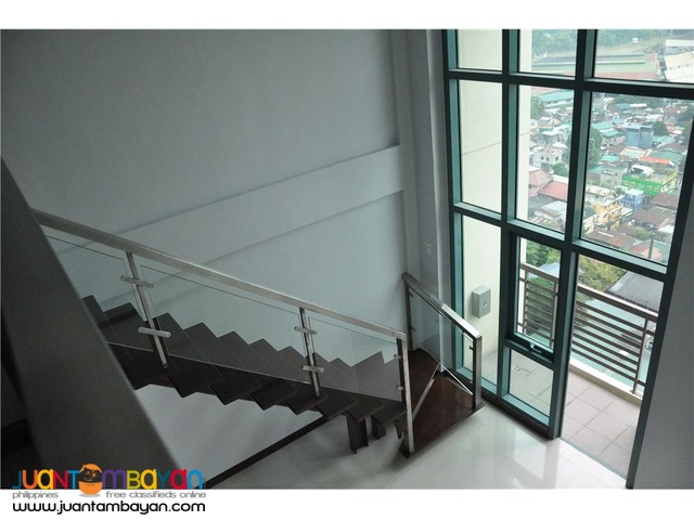 URGENT SALE: 1 BR Loft Type at Le Grand Tower 2, Eastwood, Quezon City