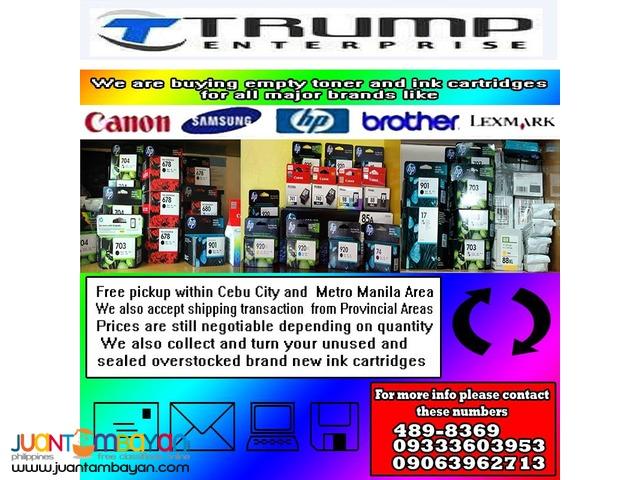 buyer of empty ink cartridge
