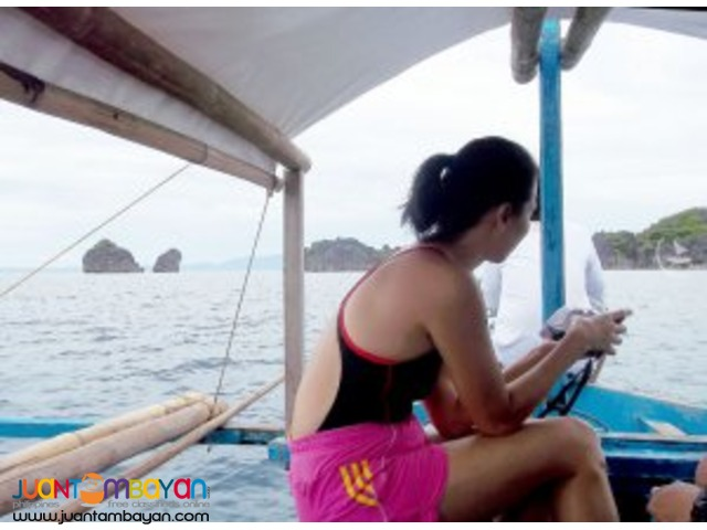 Caramoan tour package, a rugged piece of paradise
