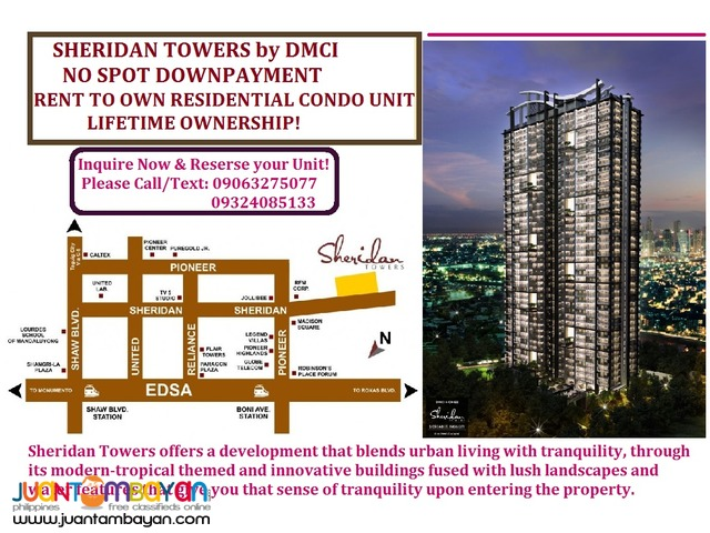 Sheridan Towers 2bedroom Condon in Mandaluyong near SM Megamall