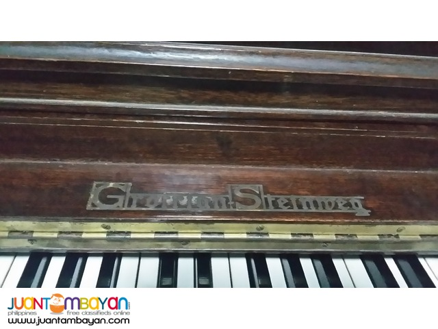 Piano, Upright Studio Type with Bench