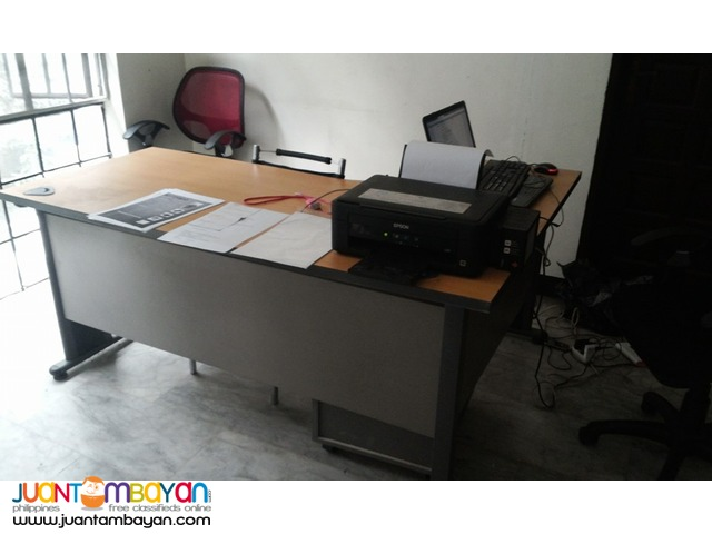 L-shape Office Table - 2months Used