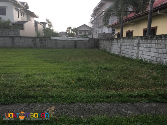 Lot For Sale located in Exclusive Subdivision