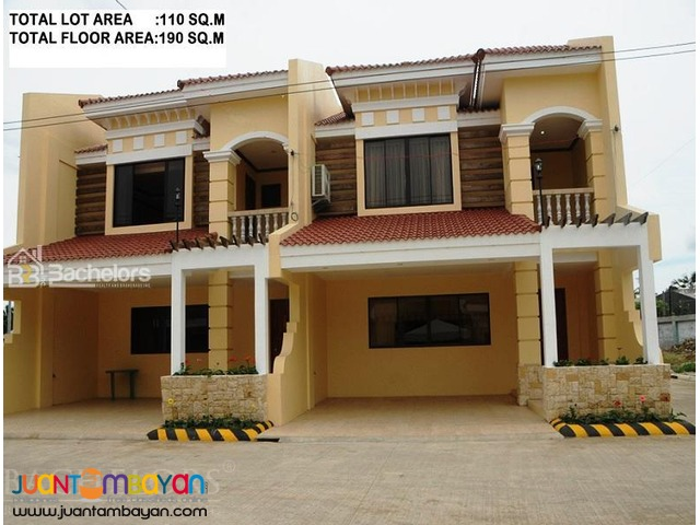 Townhouse 2-Storey as low as P33,873k monthly amort in Mandaue Cebu