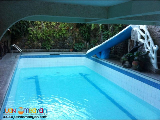 ALFARO cheapest private pool resort for rent in calamba laguna pansol