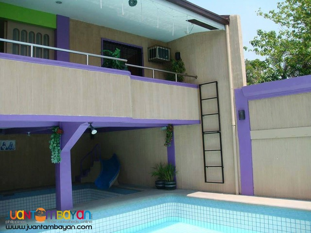 FUNTASTIC cheapest private pool resort for rent in calamba laguna