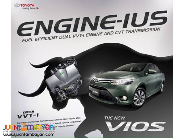 All New and Improved Toyota Vios (with Dual VVT-i Engine and CVT)