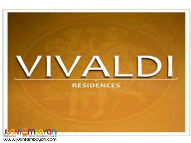 FOR SALE!!! VIVALDI RESIDENCES, CUBAO, QUEZON CITY