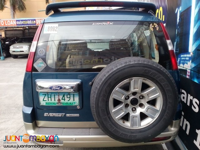 2007 FORD EVEREST 4X4