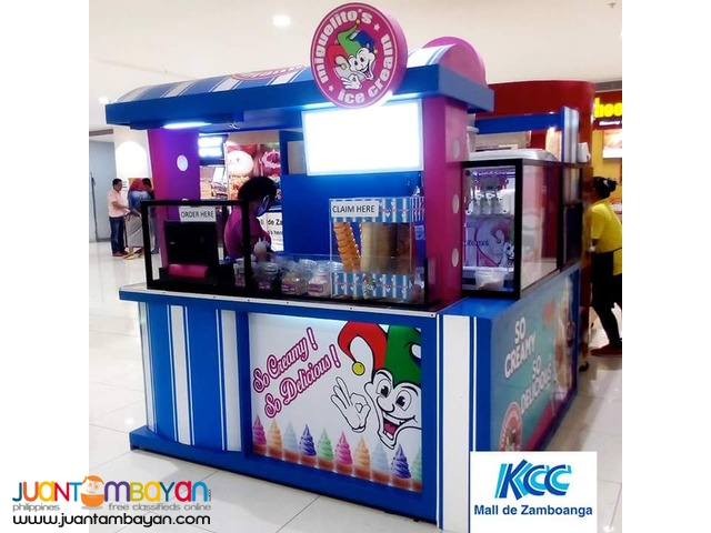 MIGUELITOS ICE CREAM FOOD CART