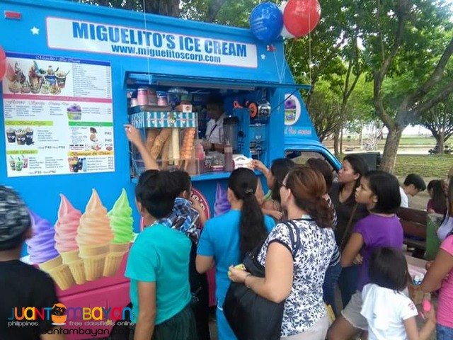 MIGUELITOS MOBILE ICE CREAM TRUCK
