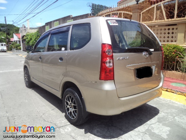 2011 Toyota Avanza J 1.3