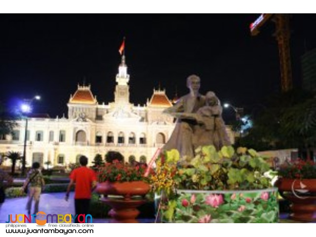Vietnam tour, Ho Chi Minh, yesterday and today