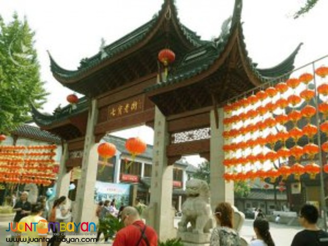 Shanghai China tour, a prosperous city
