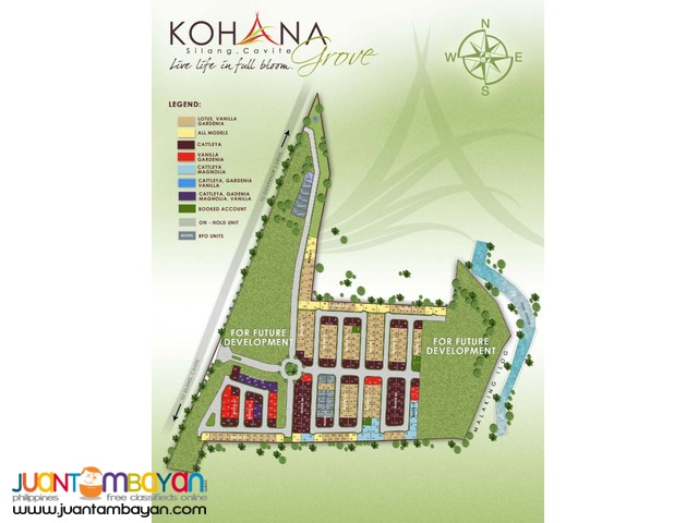 Lotus Model Unit @ KOHANA GROOVE in Cavite  near Tagaytay