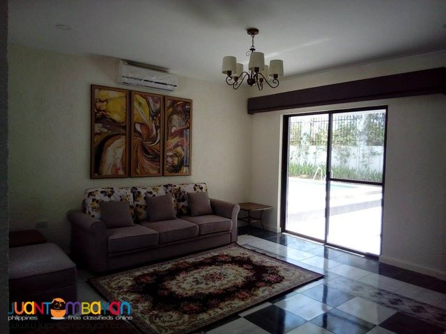 85k 3 Bedroom House w/ Swimming Pool For Rent in Mandaue City