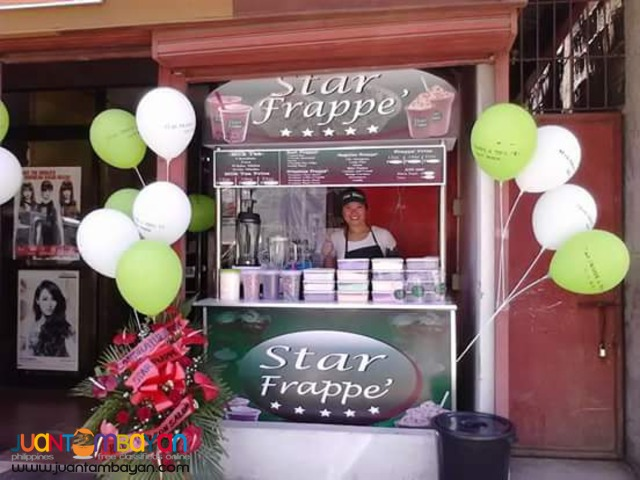 STAR FRAPPE FOOD CART FRANCHISE PHP79,000 ONLY