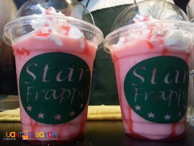 STAR FRAPPE FOOD CART FRANCHISE PHP99,000 ONLY