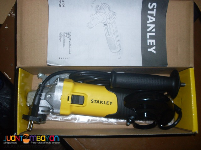 Stanley Angle Grinder STGS8100 850 Watts Brand New