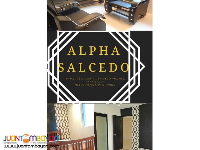 For Lease! 1 BR Deluxe in Alpha Salcedo, Makati City