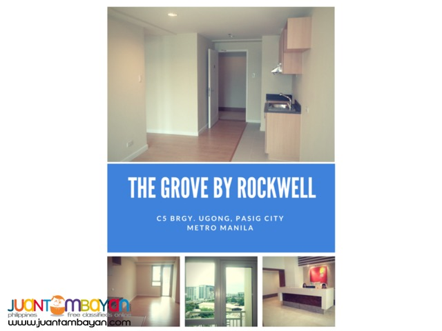 46 sqm 1 BR on RUSH SALE!! The Grove By Rockwell, Pasig