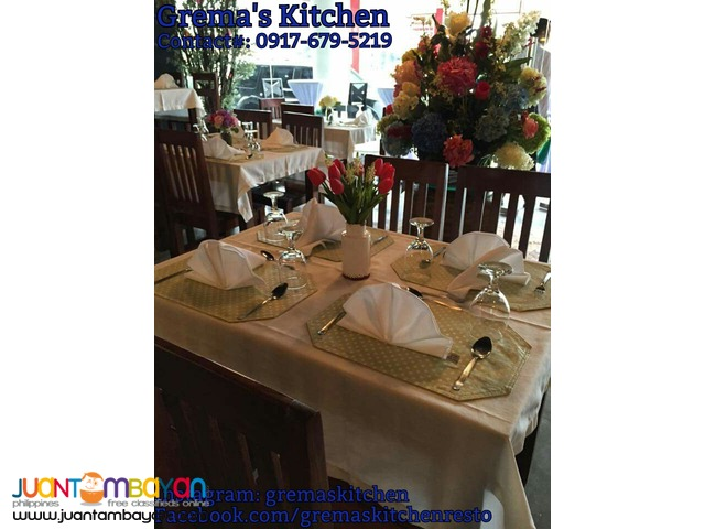 Grema's Kitchen (Restaurant & Event Place)