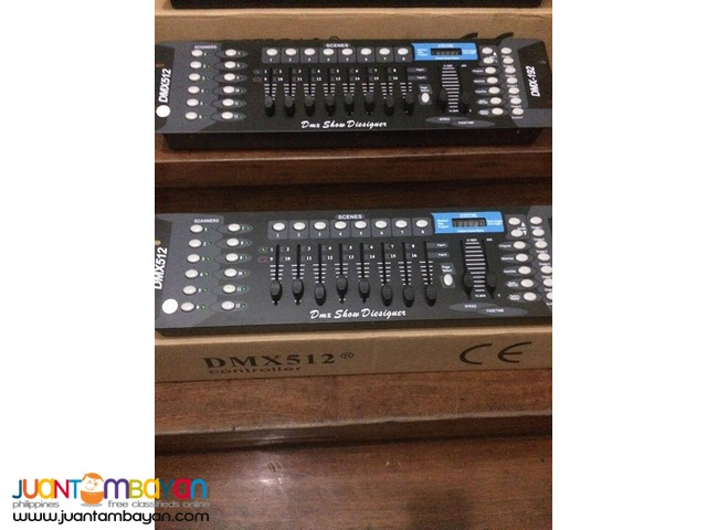 DMX 512 (Lights and Fx)For Sale!!