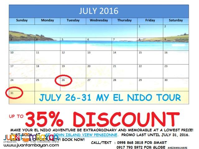SAVE more whilst having more fun and Adventure at El Nido, Palawan