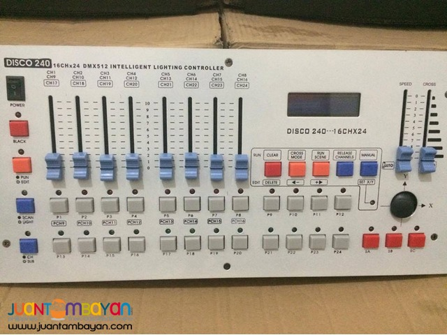 DMX 240 (Lights and Fx)For Sale!!