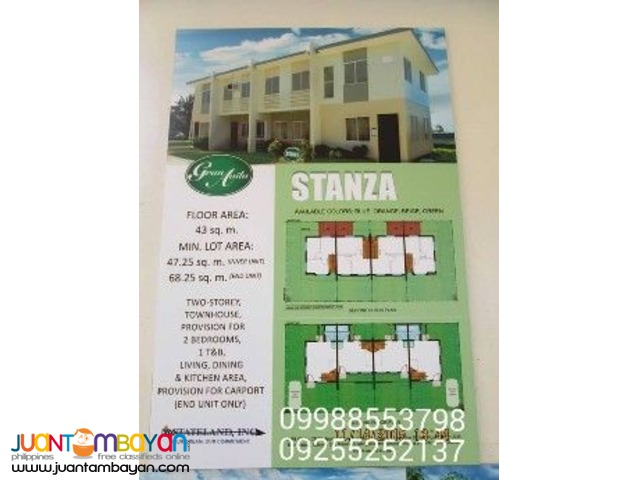 Gran Avila In Calamba City, House And Lot For Sale