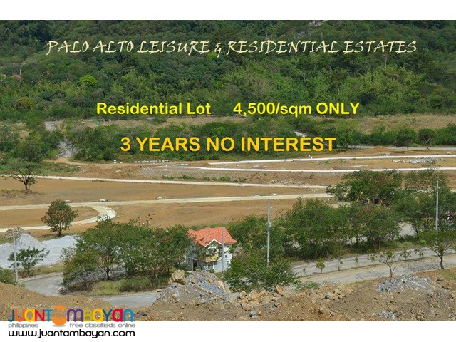Resdential/Farm Lots for SALE at Palo Alto 20% discount on DP