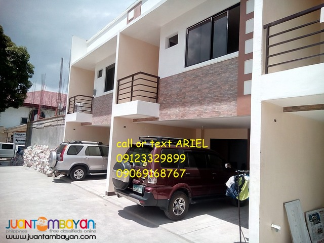 Ready for occupancy Marikina townhouse 3br at Irenea