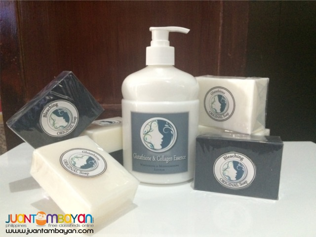 Glutathione and Collagen Soap and lotion