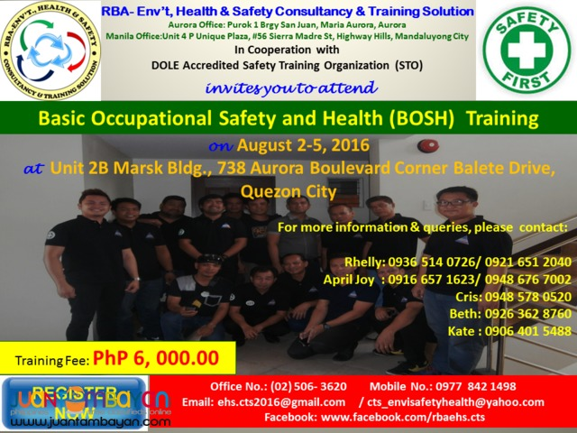 Construction Occupational Safety and Health (COSH) Training
