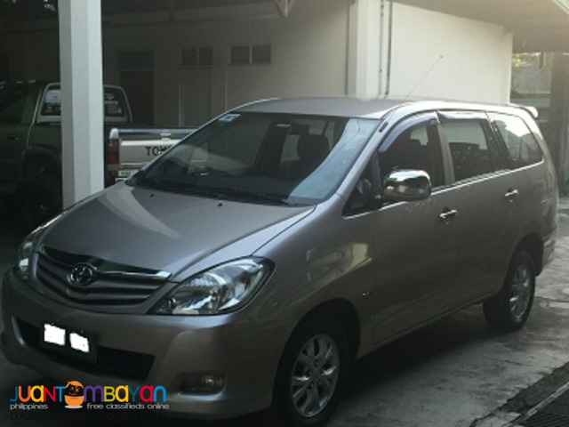 2011 toyota innova e at dsl