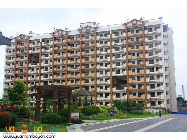 Condo in Paranaque Calathea Place near SM BF, Sucat