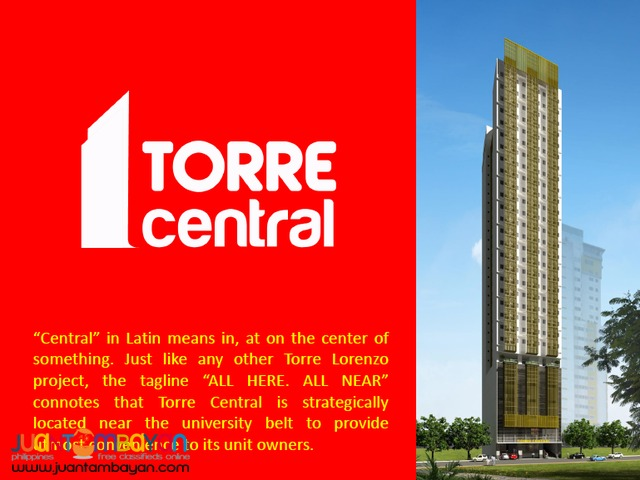 TORRE CENTRAL Espana Across UST = 2.65 M up/unit