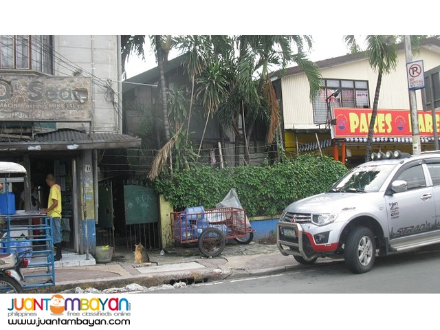 300sqm lot with old house near San Juaquin Bridge,Pasig
