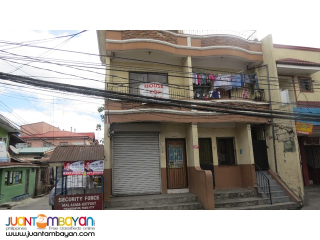 U. Velasco, Pasig 3 storey corner lot duplex for 6.5M