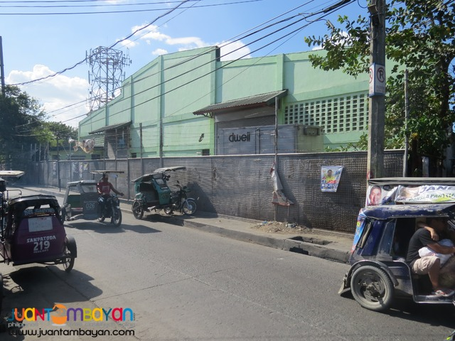 Pasig warehouse 1089sqm near market for sale 49M