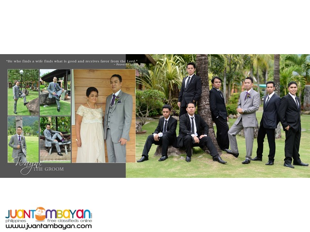 Wedding Photo and Video Coverage in Calamba City, Laguna