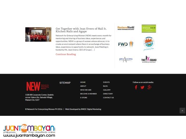 Affordable website starter for SME. Free Trial!