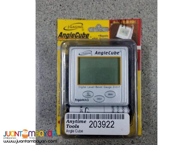 iGaging Angle Cube Digital Angle Protractor Gauge