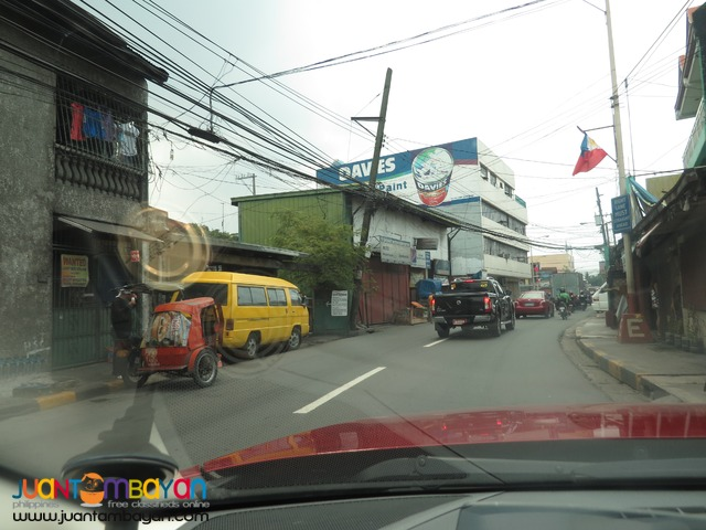 C.Raymundo commercial lot 734sq meters for 36.7M